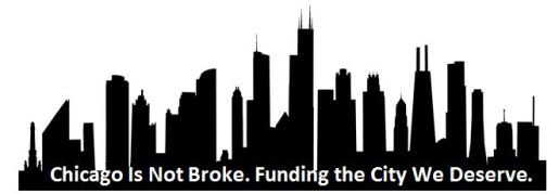 Chicago Is Not Broke+skyline